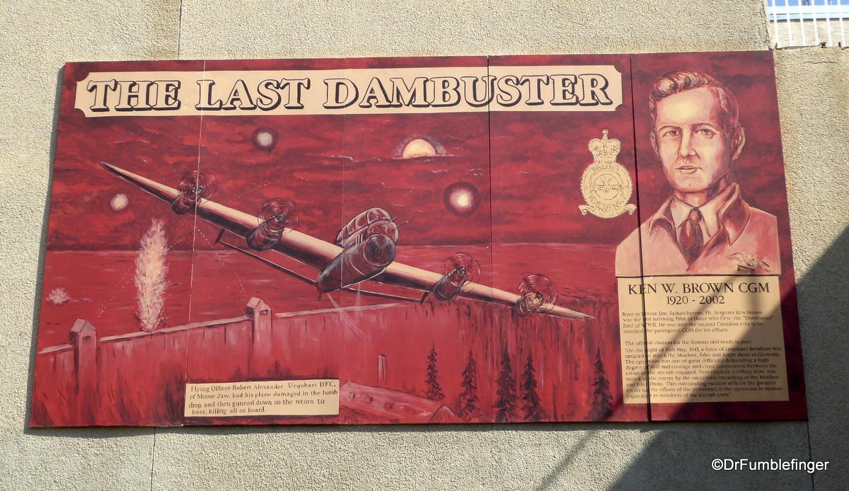 Moose Jaw, Saskatchewan.  The Last Dambuster