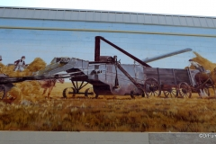 Moose Jaw, Saskatchewan.  Old Time Threshing Bee