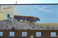Moose Jaw, Saskatchewan.  Breaking New Ground