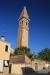Burano, leaning church tower
