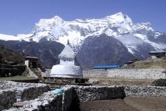 A stupa and museum, Namche Bazaar, Nepal