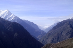 Views to the west of Namche Bazaar, from when we treked