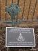 Jackson's Masonic grave marker