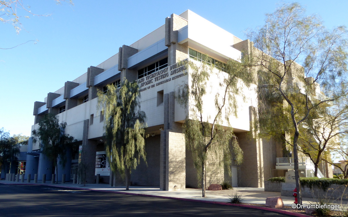 Exterior, National Atomic Testing Museum, Las Vegas