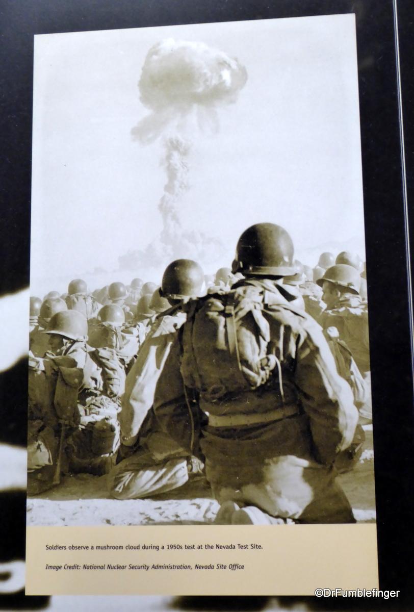 Exhibits, National Atomic Testing Museum, Las Vegas