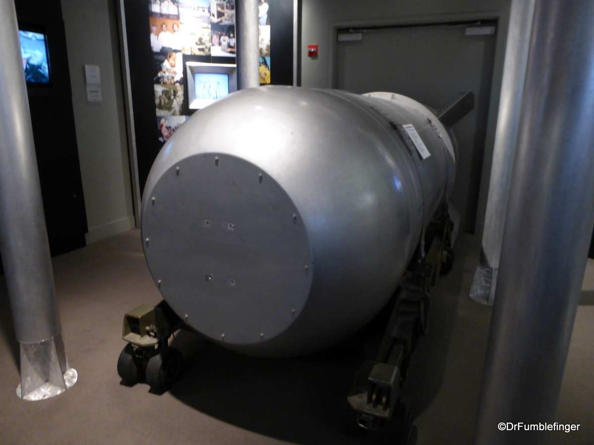 National Atomic Testing Museum, Las Vegas. B53 Thermonuclear Weapon