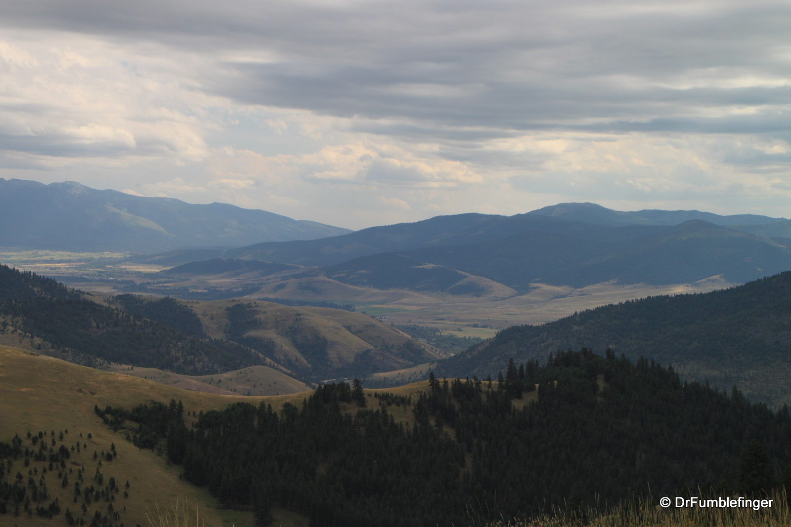 View from National Bison Refuge