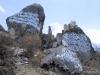 Mani stones, Khumbu region, Nepal. The inscriptions contain a Buddhist prayer.
