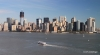 Manhattan, viewed from Statue of Liberty