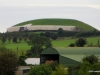 Newgrange viewed from the visitor center