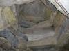Newgrange Visitor Center -- copy of the NewGrange passageway