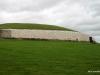 Side profile of Newgrange, an ancient passage tomb