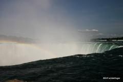Mist coming off Horseshoe Falls