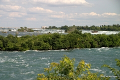 The Niagara River above Horseshoe Falls