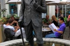 George Shaw statue, Niagara-on-the-Lake, Ontario