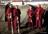 Buddhist monks, Khumbu region, Nepal