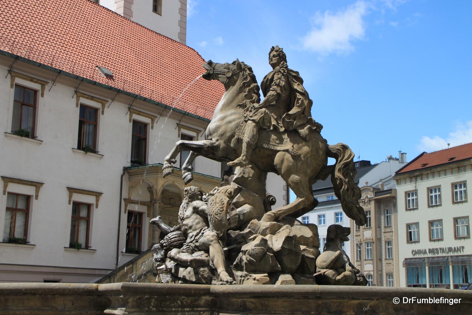 Caesar Fountain in Upper Square