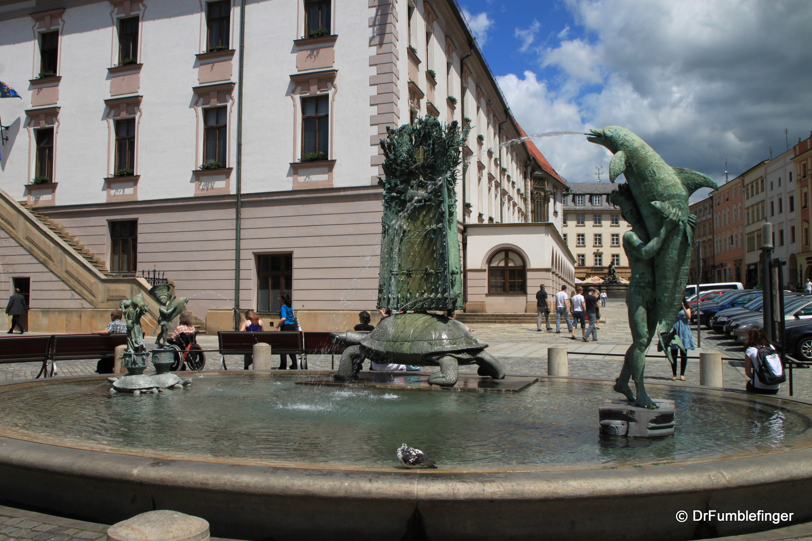 Arion Fountain in Upper Square