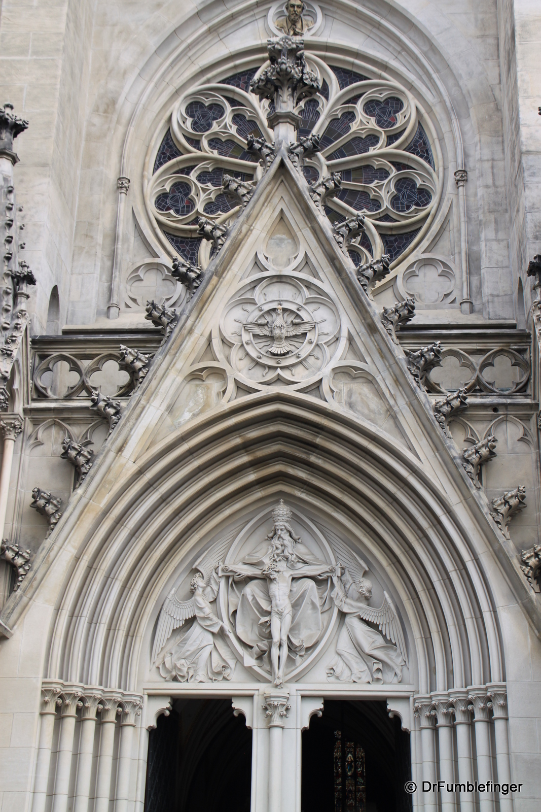 Detail of St. Wenceslas Cathedral