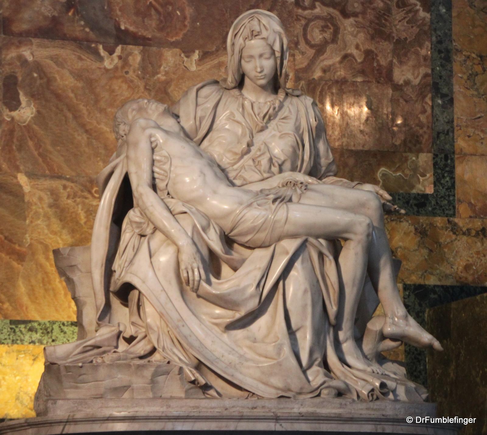 Vatican City, St Peter\'s Basilica, Michelangelo\'s Pieta