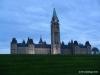 Parliament hill at dusk