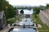 Locks on the historic Rideau Canal