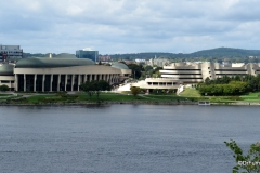 View of Canadian Museum of History and Ottawa River