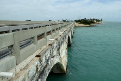 Conversion to Pedestrian bridge, Overseas Highway, Florida Keys