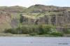 Basalt cliffs near the Snake River