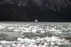 Zodiacing to Pia Glacier