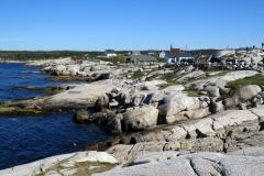 Peggy's Cove shoreline