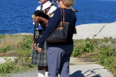 Bagpipes, Peggy's Cove