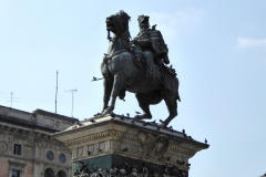Monument to King Victor Emannuel II, Piazza del Duomo, Milan