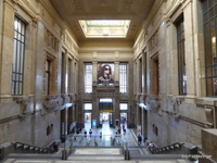 Milan Central Rail Station