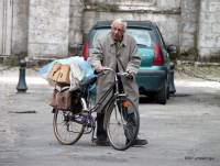Old Man with Bike, Chartres