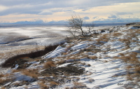 Clearing storm, Alberta