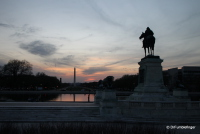 Sunset, National Mall