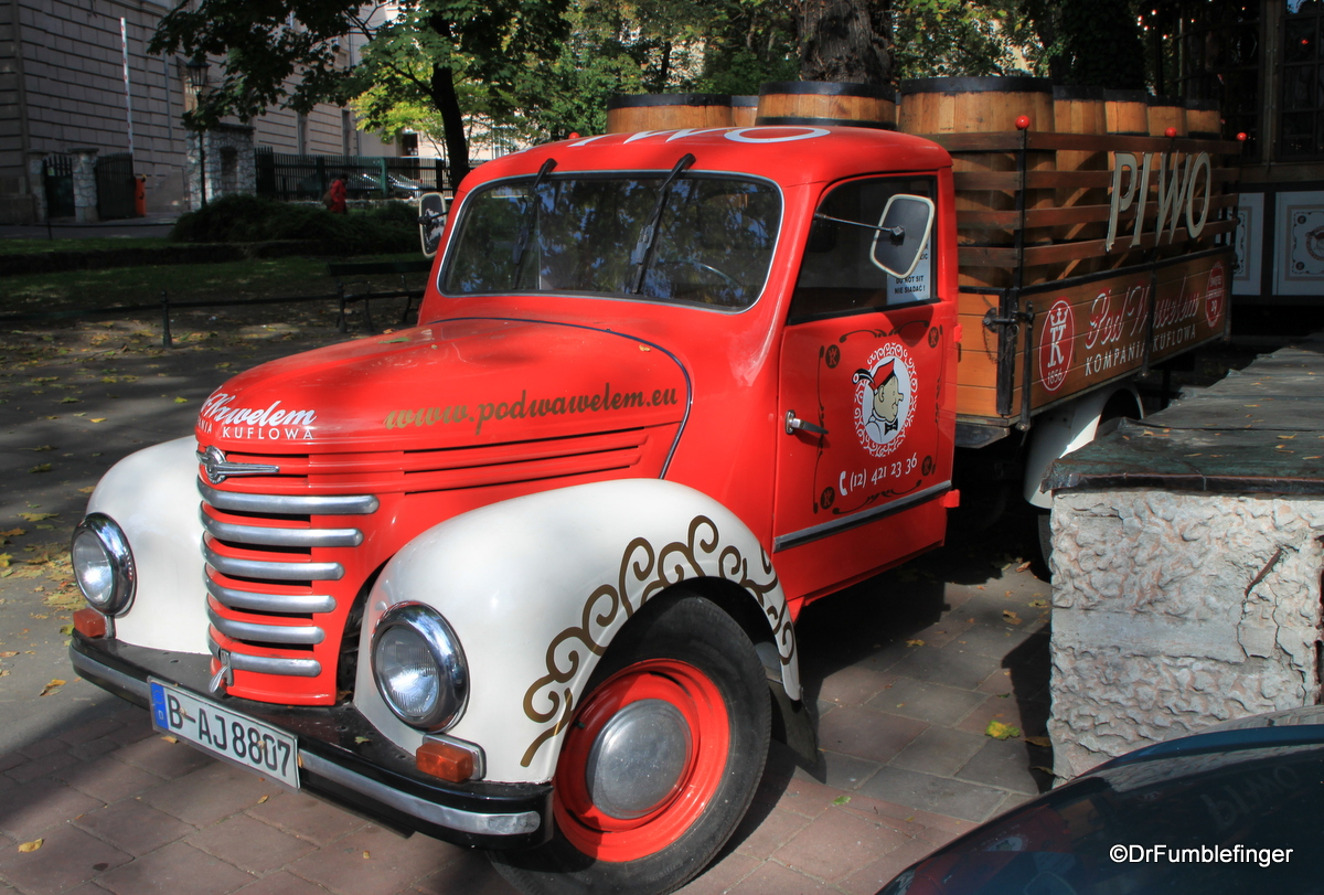 Polish Beer Truck, Krakow