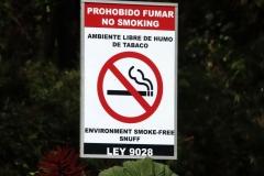 No smoking??  Poas Volcano