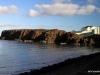 View across the Portrush Harbor