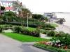 Garden near the Portrush waterfront