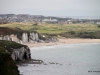 View of Portrush from White Park Bay viewpoint