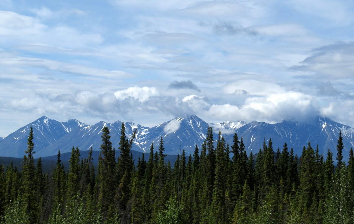 Trip to Kluane - Alaska Highway