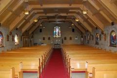 Interior of St Mary's Parish, Banff (courtesy of St. Mary's)