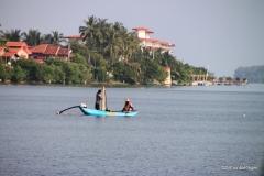 Fishing in Batticaloa harbor