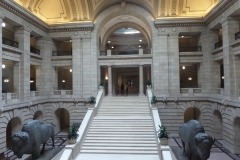 Grand Staircase, Manitoba Legislative Building