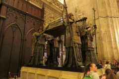 Christopher Columbus Tomb, Seville Cathedral