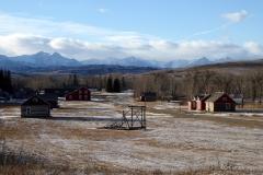 Bar U Ranch in January