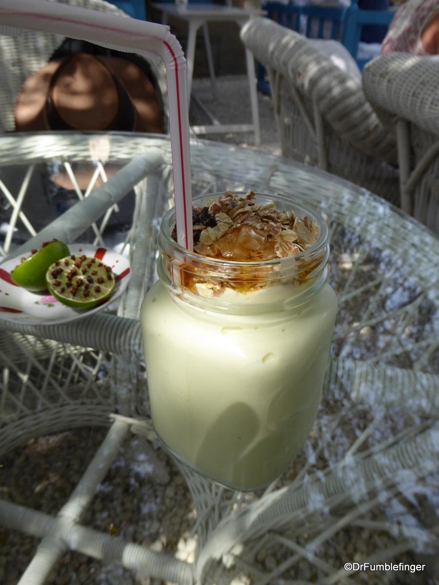 Avacado milkshake, Arabian Tea House Cafe, Dubai
