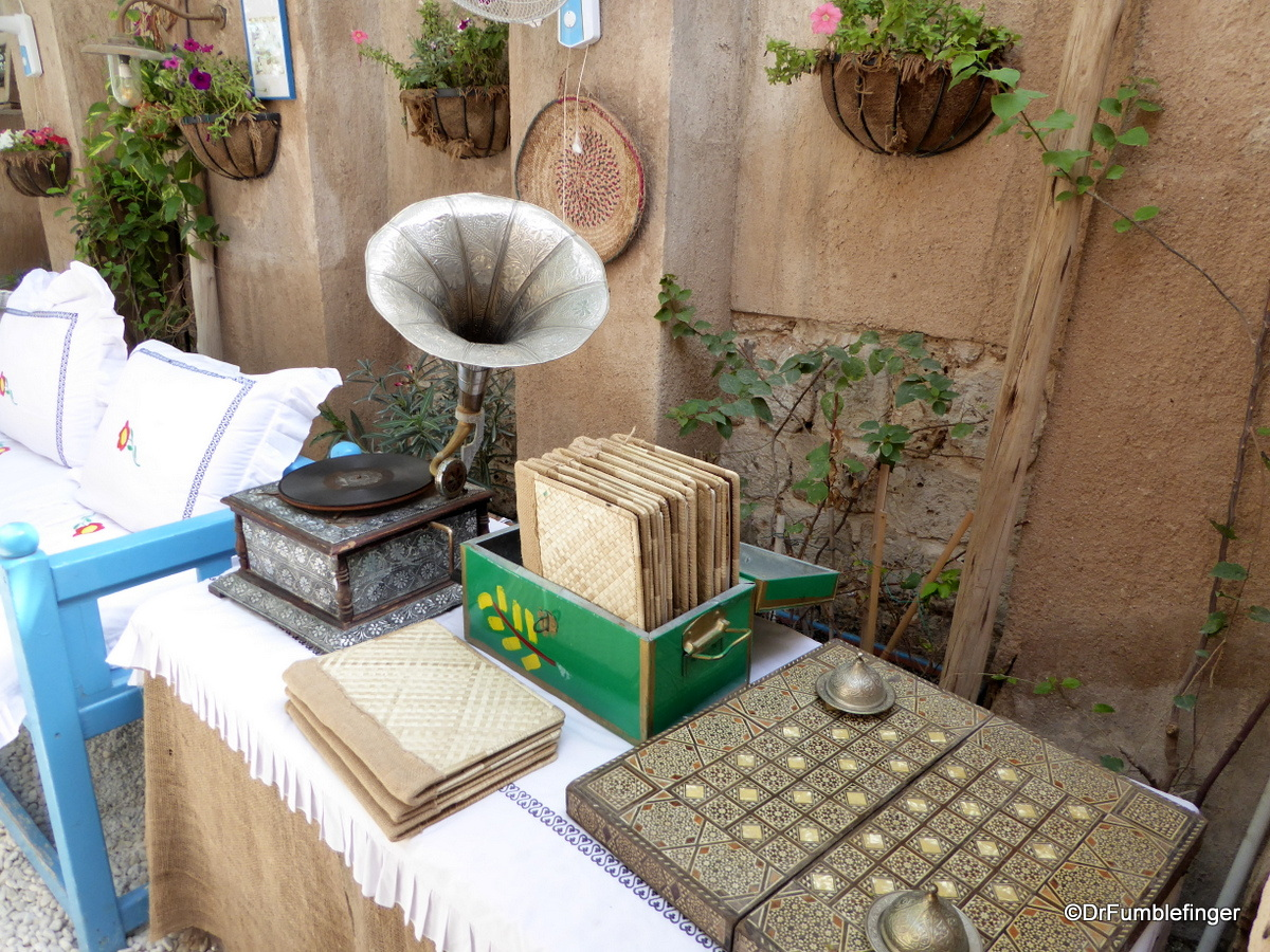 Antiques on display at the Al Fahidi Historic District